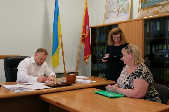 Михайло Черняк провів особистий прийом громадян