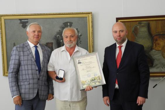 Євгеній Грицьков привітав лауреатів премії імені Іллі Рєпіна