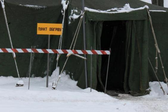На Харківщині функціонує 450 пунктів обігріву