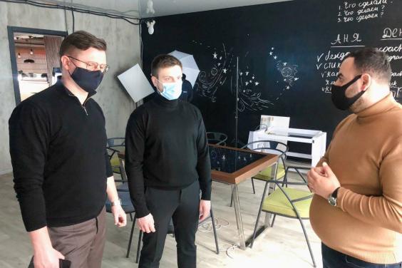 Антон Деньгуб ознайомився з роботою наукового парку «Синергія»