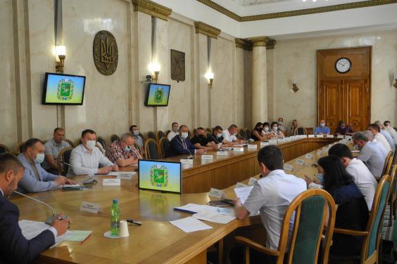 У Харківській ОДА обговорили хід будівництва амбулаторій загальної практики – сімейної медицини в області