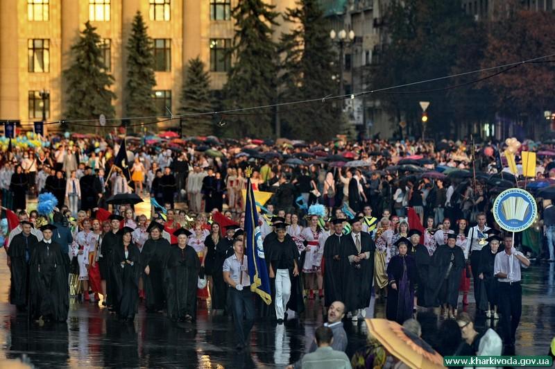 Двадцать пять тысяч студентов пополнили ВУЗы Харькова