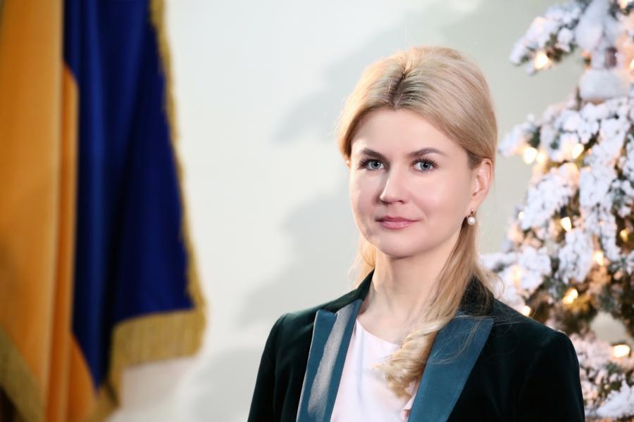 Юлия Светличная поздравила харьковчан с Новым годом (ВИДЕО)