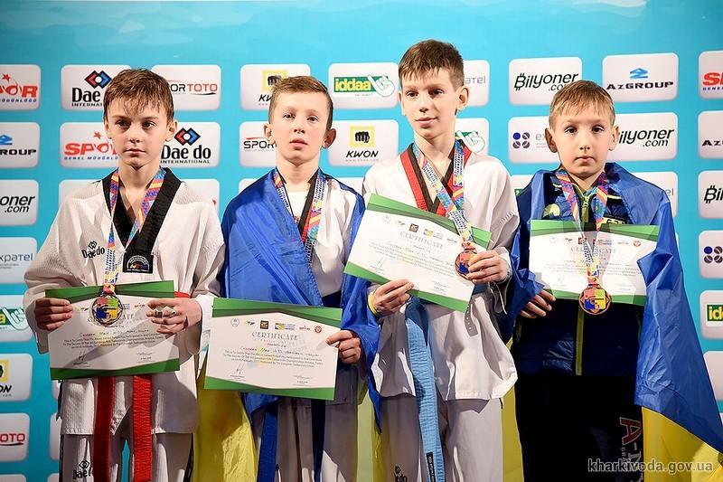 Юный харьковчанин стал чемпионом Европы по тхэквондо (фото)