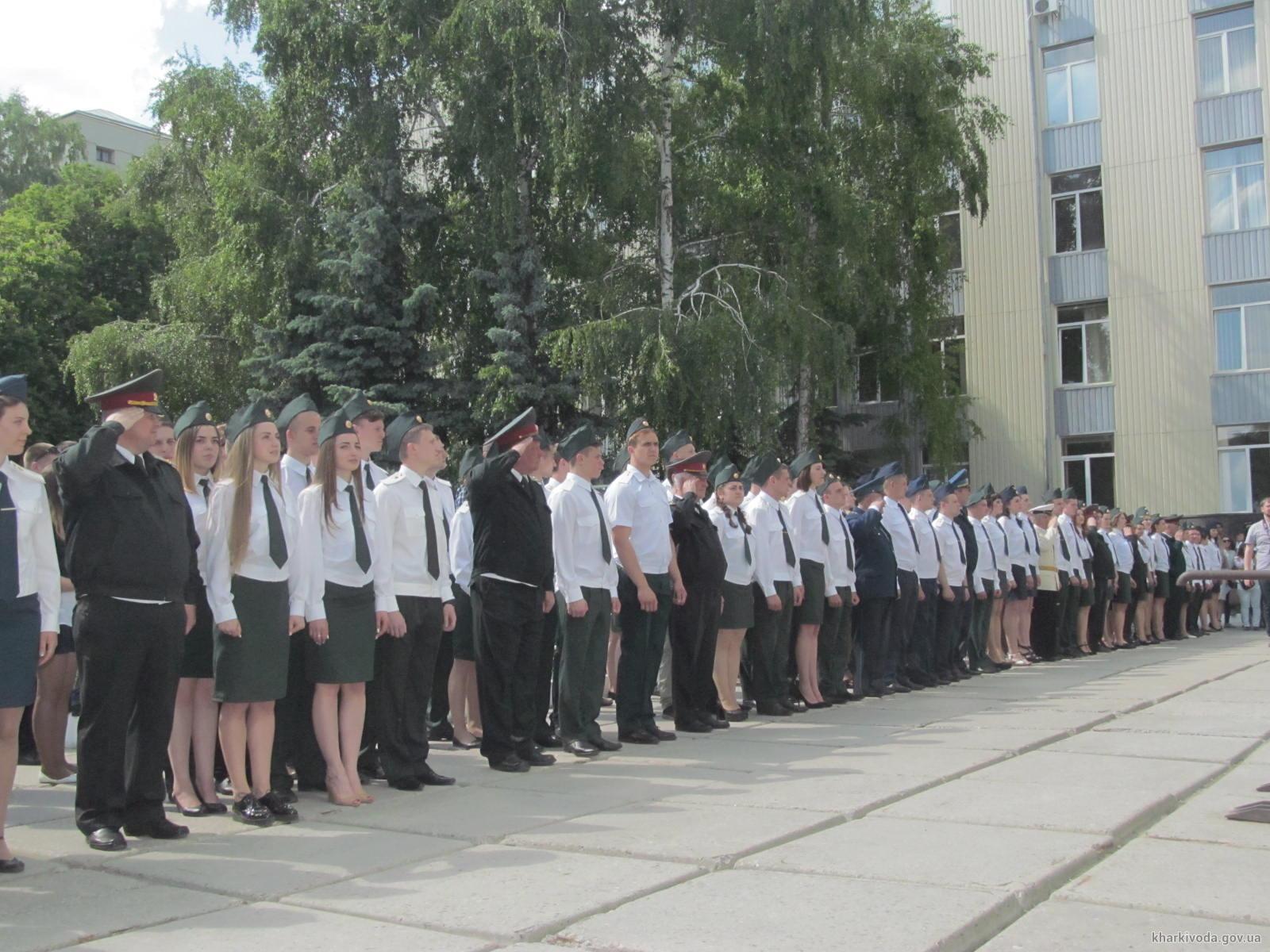 Военную присягу в Харькове приняли 140 будущих военных медиков (ФОТО)
