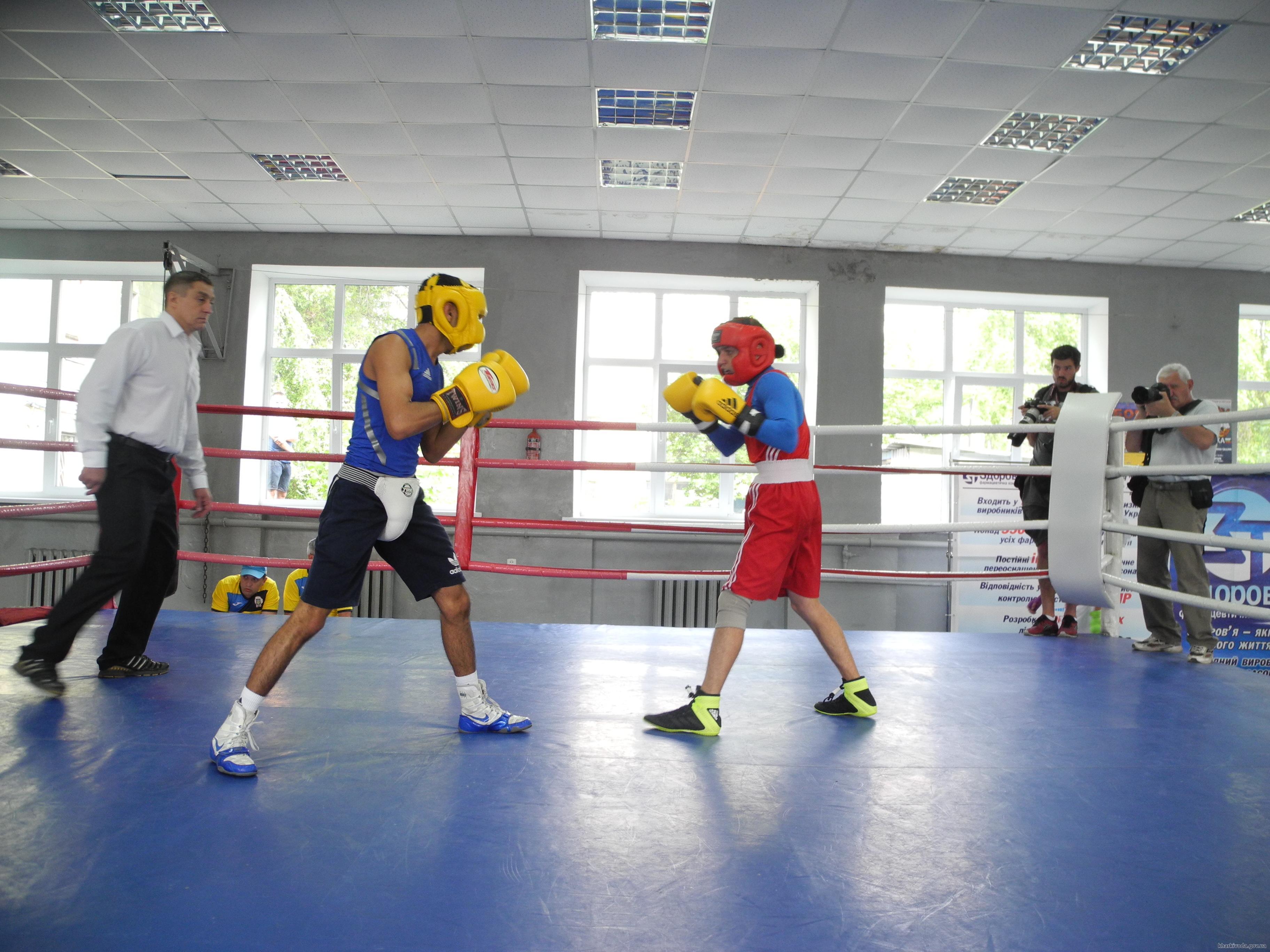 Открытая тренировка сборной команды Украины по боксу прошла в Харькове