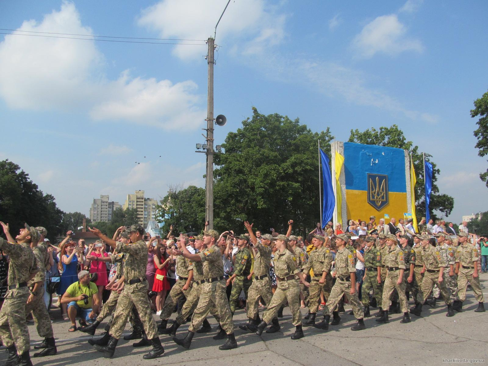 В Харькове офицеры запаса приняли военную присягу (ФОТО)