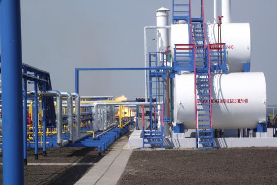 Добыча украинского газа растет