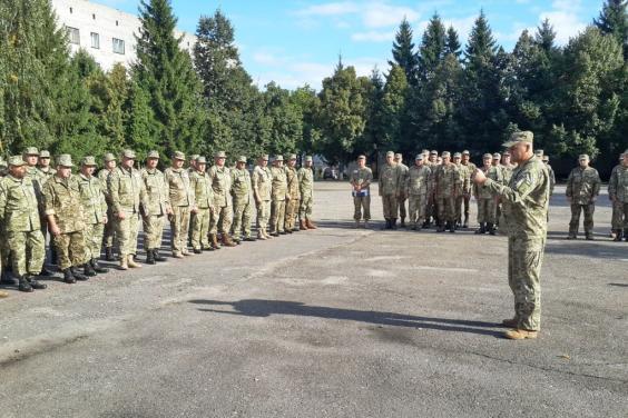 На Харьковщине начались военно-учебные сборы с бойцами теробороны