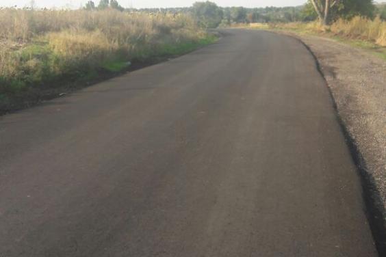 Ремонт на дороге Фартушное - Цаповка - Гуриновка планируют завершить до 10 октября