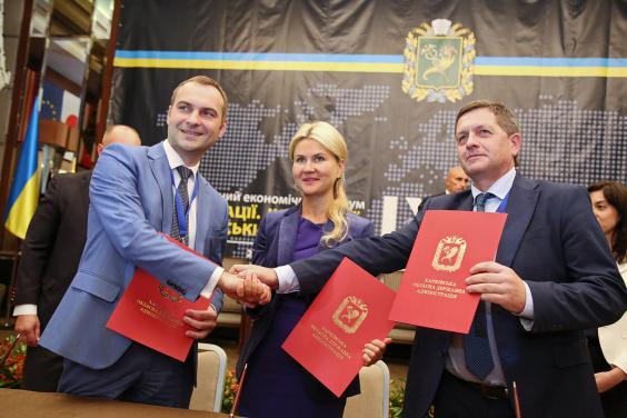 В рамках форума «Инновации. Инвестиции. Харьковские инициативы» подписан ряд меморандумов