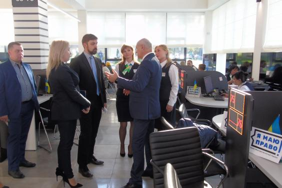 Минюст: Харьковский региональный ЦПАУ - положительный пример для всей страны
