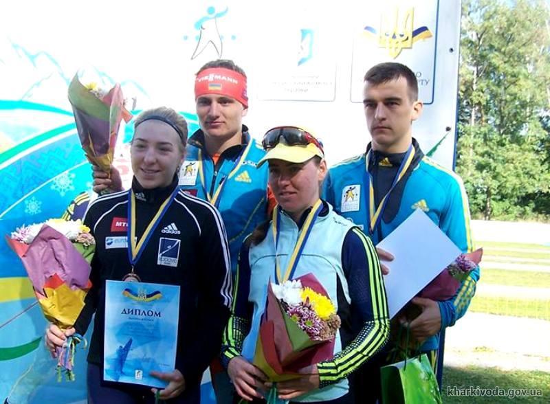 Харьковские биатлонисты – бронзовые призеры чемпионата Украины (ФОТО)