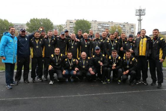 Харьковский «Олимп» в 13-й раз стал чемпионом Украины по регби-15