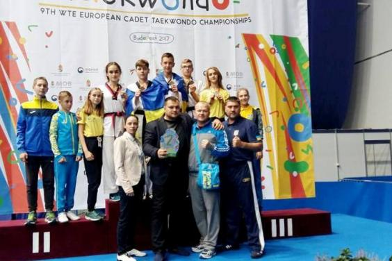 Харьковские тхэквондисты завоевали медали чемпионата Европы (ФОТО)