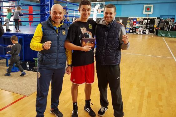 Ярослав Харциз и Сергей Горсков – чемпионы Украины по боксу