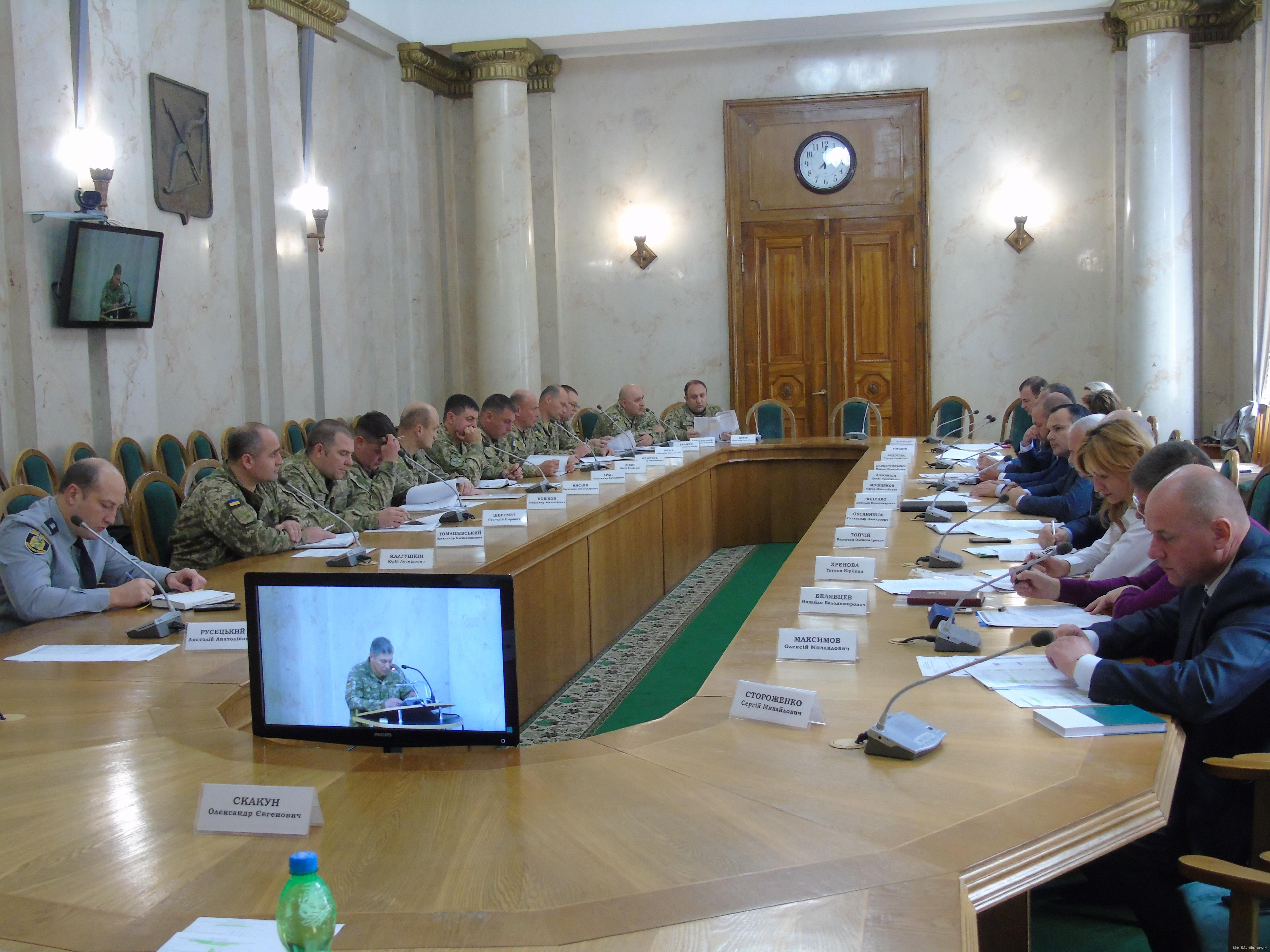В ХОГА обсудили ход осеннего призыва и комплектования армии по контракту