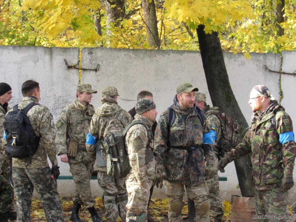 С более 100 бойцами теробороны провели спецзанятия (ФОТО)