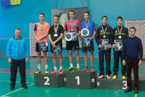 Юные бадминтонисты завоевали 12 медалей всеукраинского турнира
