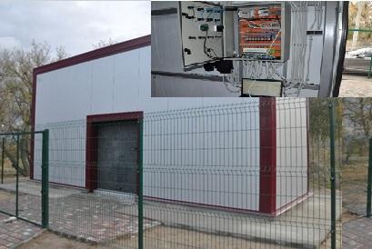 На Зачепиловщине завершают строительство очистных сооружений с УФ-обеззараживанием