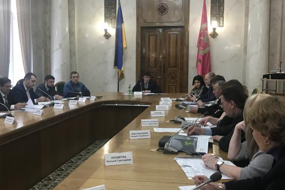 В ХОГА обсудили вопросы юридического статуса Мемориального комплекса памяти жертв Голодомора