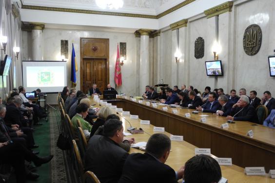 Руководители районов и громад Харьковщины ознакомились с проектами Минрегиона