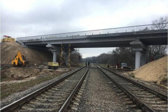 Реконструкция Губаревского путепровода - на завершающем этапе (ФОТО)