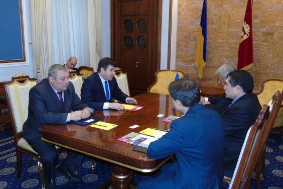 Анатолий Бабичев провел встречу с Послом Афганистана в Украине