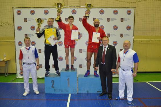 Самбисты Харьковской области – одни из лучших на чемпионате Украины