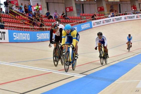 Харьковские велогонщики успешно выступили на этапе Кубка мира