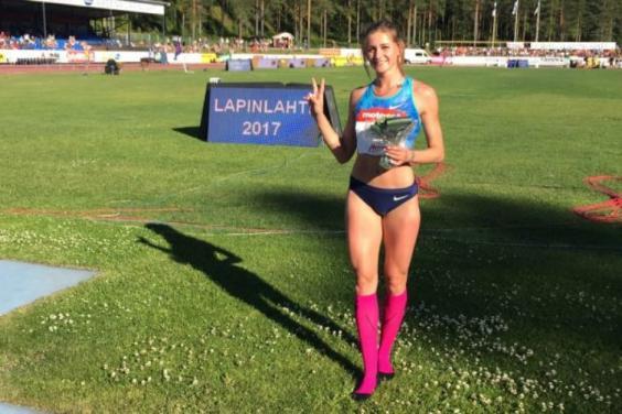Харьковчанка стала лучшим легкоатлетом месяца в Украине