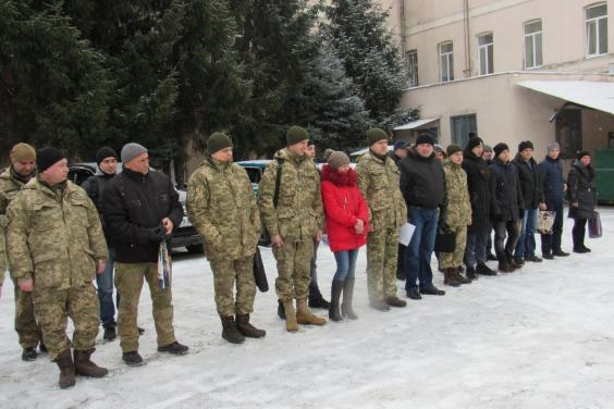 50 контрактников из Харьковщины пополнили украинскую армию