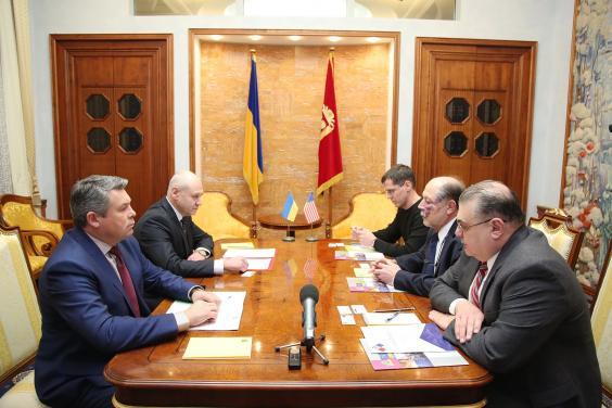 Марк Беккер провел встречу с делегацией Американского совета по внешней политике