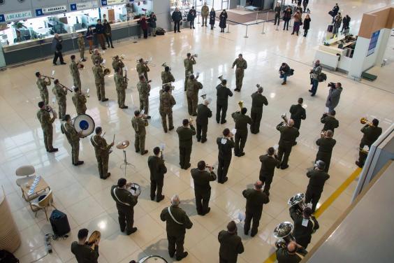 На Харьковщине почтили память защитников Донецкого аэропорта