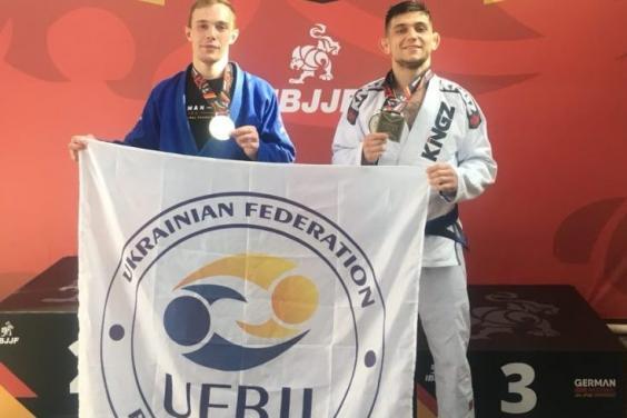 Харківські майстри джиу-джитсу вибороли комплект медалей у Німеччині