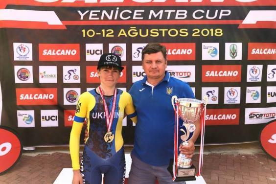 Ірина Попова виграла багатоденні велоперегони