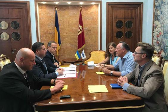 Вадим Данієлян зустрівся з головою Спеціальної моніторингової місії ОБСЄ в Харкові