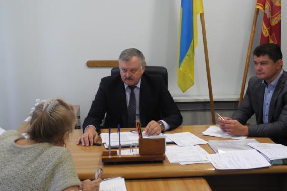 Жителі області просили Євгенія Шахненка сприяти в вирішенні питань ремонту житлового фонду
