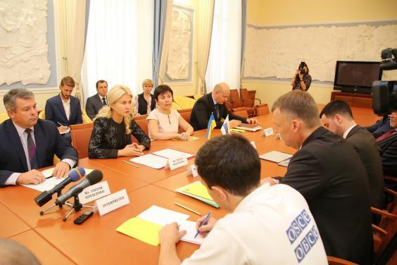 Голова ХОДА провела зустріч з першим заступником голови місії ОБСЄ в Україні