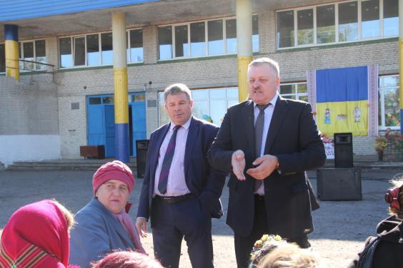 Євгеній Шахненко привітав жителів Калинового з Днем села