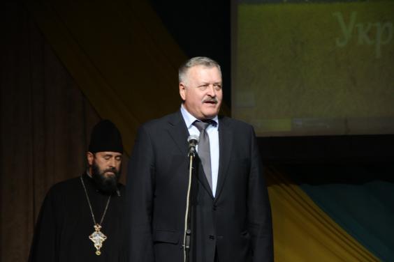 Євгеній Шахненко привітав ветеранів АТО та ООС Золочівського району з Днем захисника України