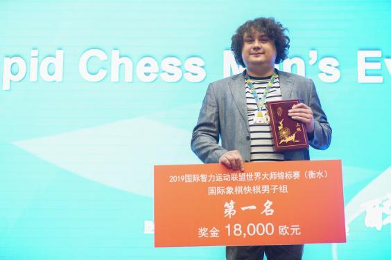 Антон Коробов переміг на Всесвітніх інтелектуальних іграх