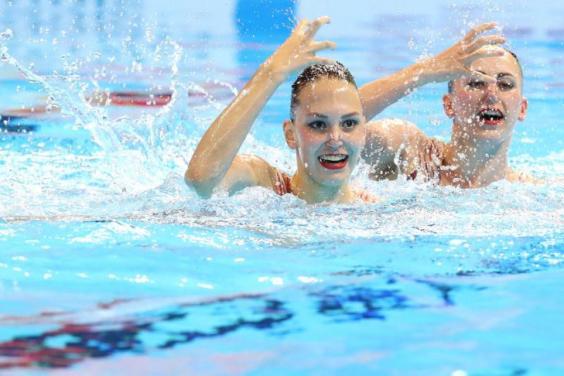 Харківські синхроністки вчетверте зійшли на п'єдестал чемпіонату світу
