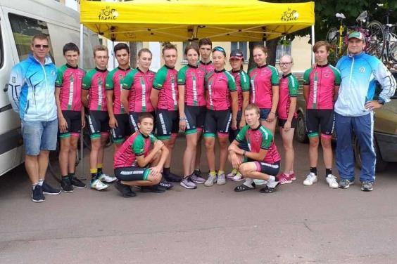Юні велогонщики Харківщини здобули медалі чемпіонату України